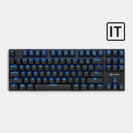tastiera gaming sharkoon purewriter tkl afk gamer store