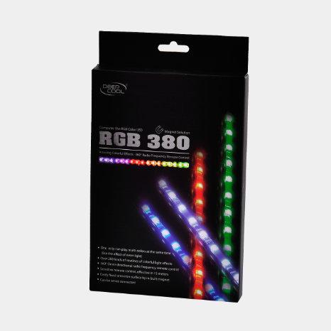 led gaming deepcool RGB 380 afk gamer store