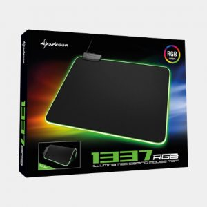 tappetino gaming sharkoon 1337 rgb afk gamer store 300x300
