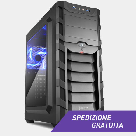 gaming case sgc1 sharkoon afkstore roma