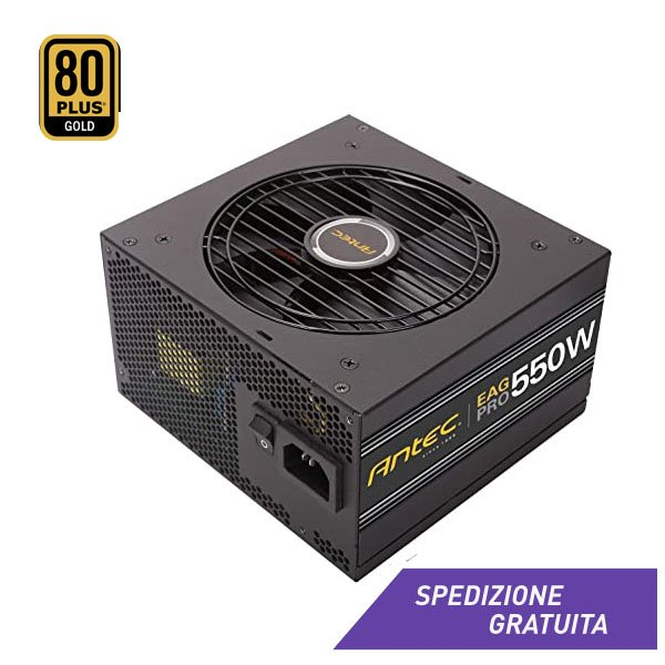 Pc Gaming Alimentatore Antec Ea550g Pro 550w Afk Store It